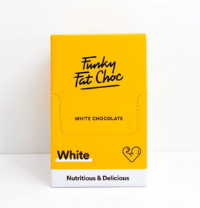 Funky Fat Foods - White box 10x50g